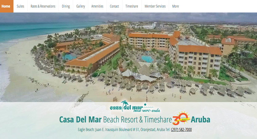Casa Del Mar Beach Resort & Timeshare Aruba, Caribbean