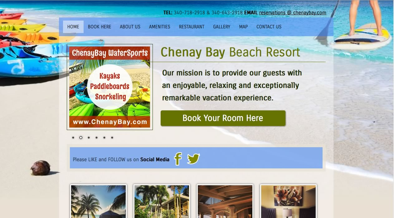 Chenay Bay Beach Resort US Virgin Islands