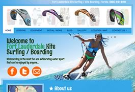 Kitesurfing lessons in Fort Lauderdale, Florida